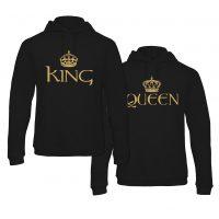 Hoodie King & Queen Gold