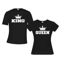 King & Queen Black