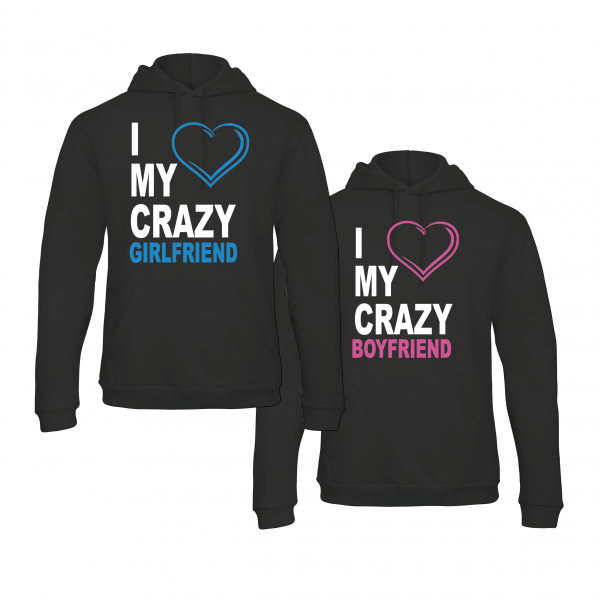 Crazy Love hoodies