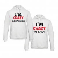 I'm Crazy hoodies
