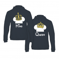 King & Queen Fantasy hoodies