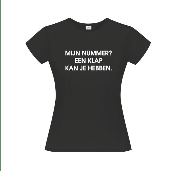 Mijn nummer t-shirt