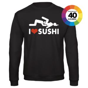 I Love Sushi trui