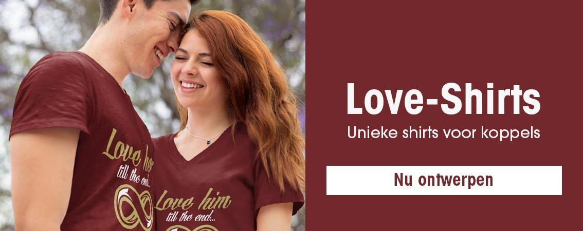 T-shirts voor koppels