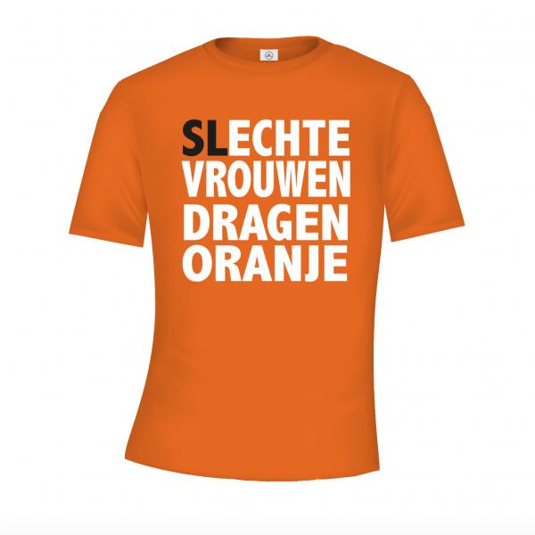 Echte vrouwen dragen oranje