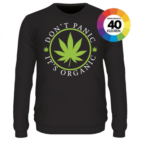 Don' panic it's organic shirt ontwerpen
