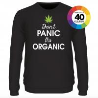 Don't panic it's organic shirt design 2 ontwerpen