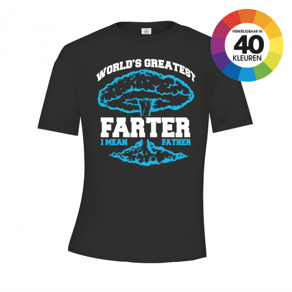 Worl's greatest Farter t-shirt