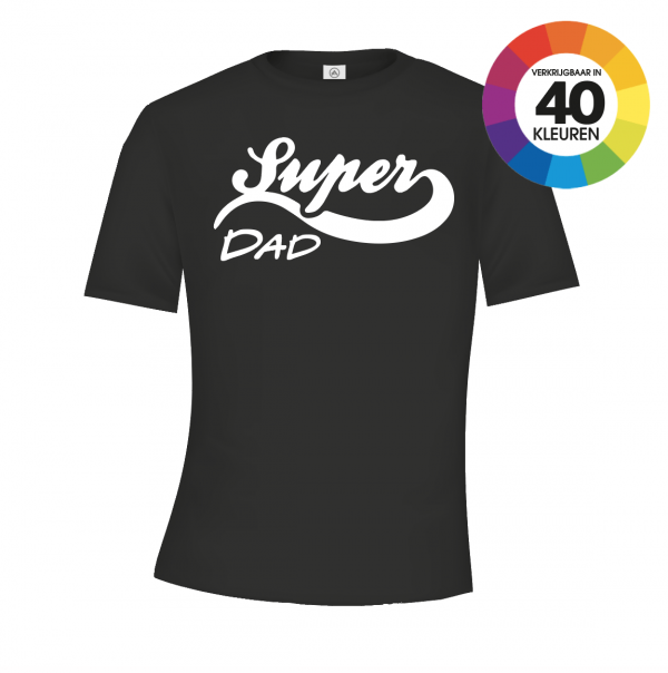 Super Dad Logo t-shirt