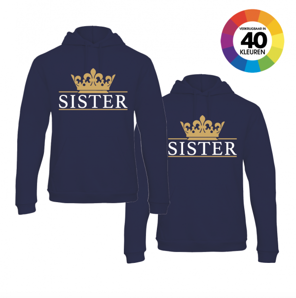 Sister Crown hoodies