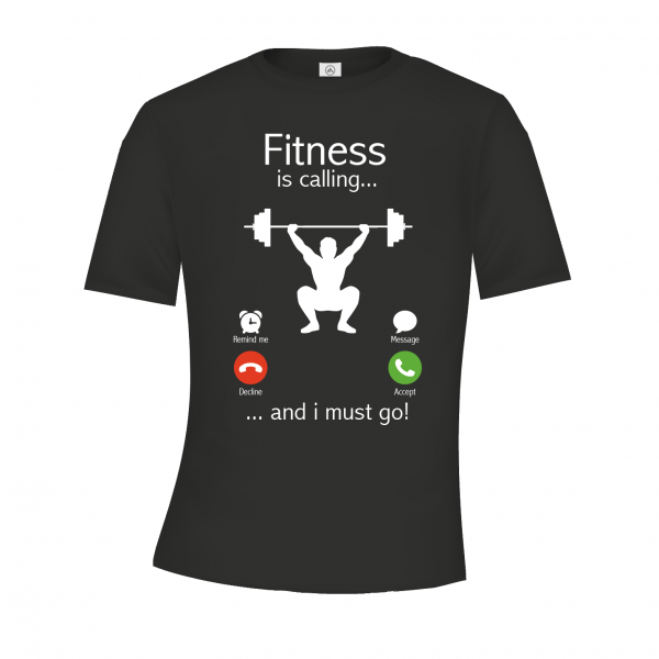 Fitness is calling