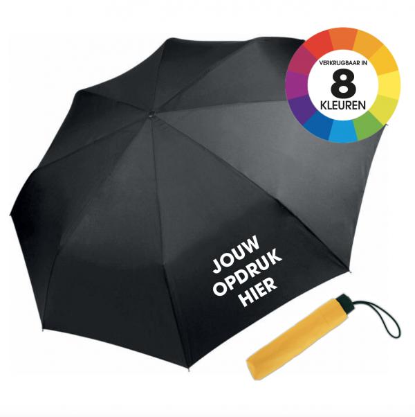 Paraplu bedrukken eigen opdruk