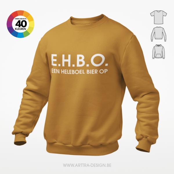 EHBO Een heleboel bier op t-shirt